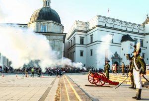 Wilno w tym roku uczciło wydarzenia sprzed 220 lat Fot. ELTA
