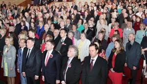 Moment inauguracyjny uroczystej Akademii poświęconej 25-leciu ZPL Fot. Marian Paluszkiewicz
