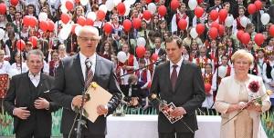 Jarosław Czubiński, ambasador RP na Litwie, podczas uroczystości przybliżył zebranym znaczenie historii kultury polskiej Fot. Marian Paluszkiewicz