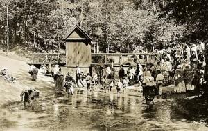 W historycznej rzece Cedron należało nogi umyć i wody ze sobą wziąć Fot. archiwum