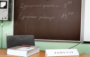 2 czerwca uczniowie na Litwie składali obowiązkowy egzamin z języka litewskiego Fot. Marian Paluszkiewicz