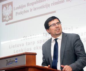Piotr Hajdecki twierdzi, że tylko w ostatnim tygodniu zgłosiły się trzy firmy, które szukają przedstawiciela wśród mieszkańców Litwy  Fot. archiwum