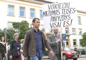 Litwa jest jedynym z takich krajów w Europie, który nie ma Ustawy o Mniejszościach Narodowych                    Fot. Marian Paluszkiewicz