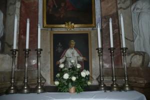 Ołtarz pamięci naszego rodaka papieża św. Jana Pawła II Fot. Justyna Giedrojć