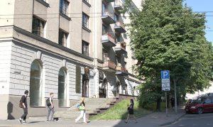 Fragment ulicy Joachima Lelewela Fot. Marian Paluszkiewicz