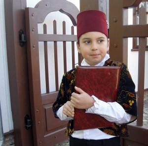 Dla dzieci były różnego rodzaju gry, zajęcia powiązane z tradycjami karaimskimi Fot. archiwum