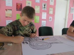 Na zajęciach chodzi o uruchomienie własnej wyobraźni Fot. Anna Pieszko