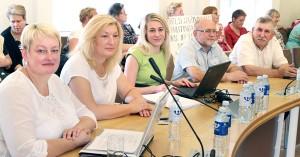 Na Radzie za zwolnieniem przed terminem mera rejonu trockiego głosowało 16 z 24 obecnych na posiedzeniu radnych Fot. Marian Paluszkiewicz