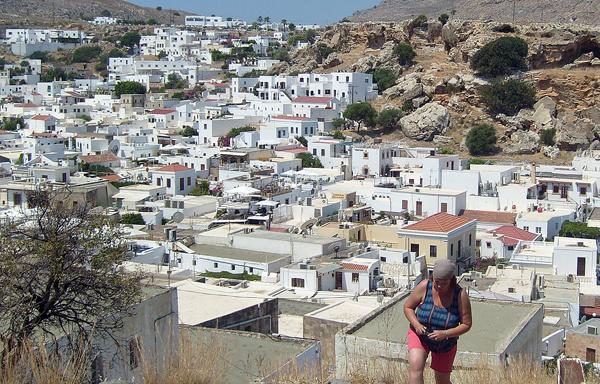 Na grecką wyspę Rodos, tam gdzie nikt się nie śpieszy
