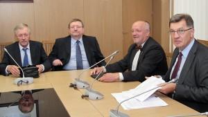 Inicjatorami i głównymi sprawcami odejścia AWPL z koalicji byli socjaldemokraci premiera Algirdasa Butkevičiusa     Fot. Marian Paluszkiewicz