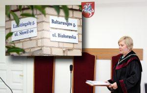 Okręgowy Sąd Administracyjny w Wilnie przyjął kolejną nieprzychylną decyzję ws. polskich tablic na Wileńszczyźnie    Fot. Marian Paluszkiewicz