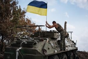 Walki na Ukrainie od połowy kwietnia pochłonęły życie co najmniej 2 200 osób Fot. EPA-ELTA