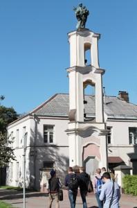 Barokowa kapliczka św. Jacka Fot. Marian Paluszkiewicz