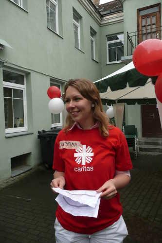 Organizatorka uroczystości JustynaFot. Justyna Giedrojć