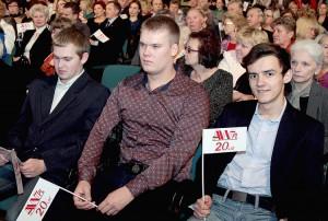 Patrząc na te młode twarze śmiało można stwierdzić, że z tak mocnym wojskiem AWPL wygra i tę batalię Fot. Marian Paluszkiewicz