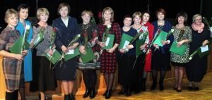 Kwiaty i nagrody należały się też najlepszym lituanistom Fot. Marian Paluszkiewicz