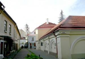 Z ulicy Wolana roztacza się malowniczy widok na zaułek Literacki Fot. Justyna Giedrojć