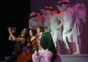 """Scena z opery G. Donizetti """"Eliksir miłości"""" Fot. archiwum"""