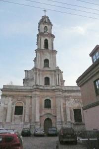 Kościół pw. Matki Boskiej Pocieszenia (Augustianów) jeszcze czeka na renowację Fot. Justyna Giedrojć