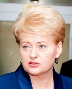 Dalia Grybauskaitė Fot. Marian Paluszkiewicz