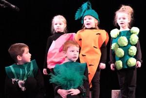 Każde dziecko na scenie jest bardzo prawdziwe Fot. Marian Paluszkiewicz
