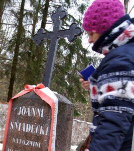 Grób profesora Jana Śniadeckiego Fot. Marian Paluszkiewicz