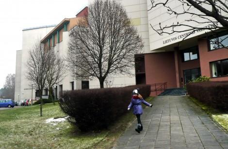 Gmach Litewskiego Centralnego Archiwum Państwowego przy ulicy Oskara Miłosza Fot. Justyna Giedrojć