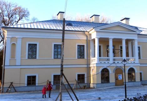 Dzisiaj pałac w Jaszunach coraz bardziej pięknieje  Fot. Anna Pieszko