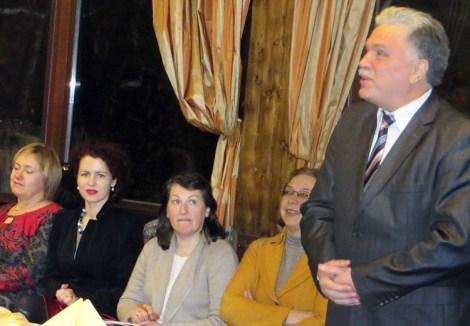Prezes SNPL Henryk Malewski mówił o potrzebie angażowania młodzieży do działalności naukowej Fot. autorka