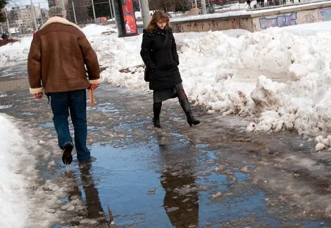 Skoki pogody ― nagłe mrozy czy też ocieplenie ― negatywnie wpływają na zdrowie Fot. Marian Paluszkiewicz