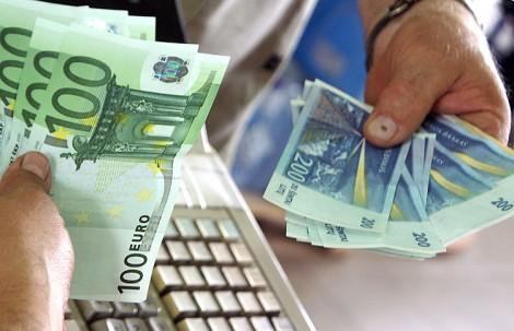 Od 15 stycznia litewską narodową walutą staje się euro            Fot. Marian Paluszkiewicz