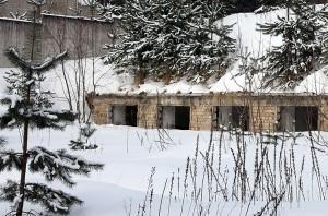 Ponieważ z dawnych schronów niewiele zostało, więc instruktaż na wypadek wojny proponuje nam urządzić schron w piwnicy — najlepiej z betonowymi ścianami i sufitem     Fot. Marian Paluszkiewicz