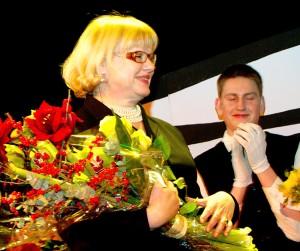 Irena Litwinowicz — kierownik artystyczny teatru  Fot. Marian Paluszkiewicz