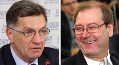 Premier Algirdas Butkevičius  i  Europoseł Wiktor Uspaskich     Fot. M. P.