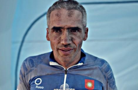 Walerian Romanowski pobił rekord Guinnessa w nieprzerwanej jeździe rowerem górskim przez 48 godzin Fot. archiwum
