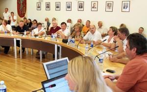 """W związku z unieważnieniem wyników wyborów w Trokach, praca tamtejszej """"starej"""" rady zostanie prolongowana do połowy tego roku      Fot. Marian Paluszkiewicz"""
