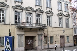 Pałacem przy ul. Didžioji 7 Pacowie władali do 1822 roku Fot. Marian Paluszkiewicz