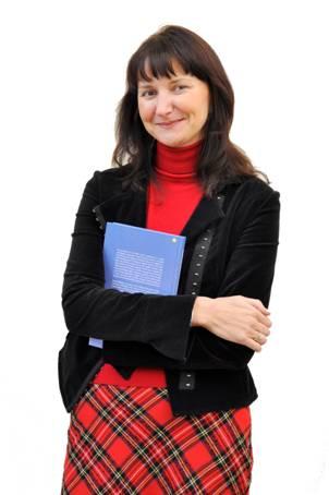 Profesor Uniwersytetu Witolda Wielkiego lingwistka Ineta Dabašinskienė, prowadząca badania z zakresu rozwoju językowego dzieci