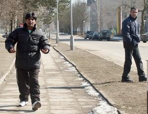 Litwa dla wielu nielegalnych emigrantów wciąż pozostaje krajem tranzytowym w ich ucieczce na Zachód    Fot. Marian Paluszkiewicz