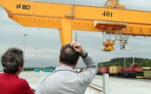 Ten terminal ma ogromne znaczenie dla całego transportu Fot. Marian Paluszkiwicz