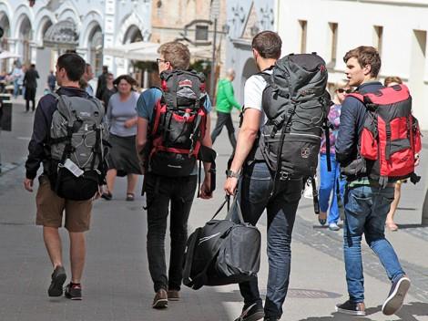 Przedstawiciele hotelarstwa zauważają, że w Wilnie spadła liczba turystów, a dodatkowy podatek nie doda atrakcyjności miastu  Fot. Marian Paluszkiewicz