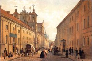 Widok ul. Dominikańskiej z XIX w. Fot. archiwum
