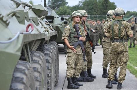 Wspólne ćwiczenia amerykańsko-ukraińskie    Fot. ELTA