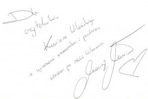 Pozdrowienia dla czytelników naszego dziennika Fot. Justyna Giedrojć