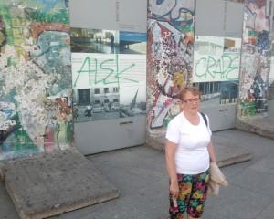 Pozostałości Muru Berlińskiego Fot. Janina Biesiekierska