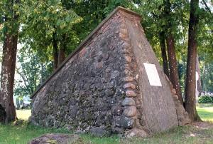 Pomnik na cześć Michała Wagnera, uczestnika kampanii napoleońskiej Fot. Marian Paluszkiewicz