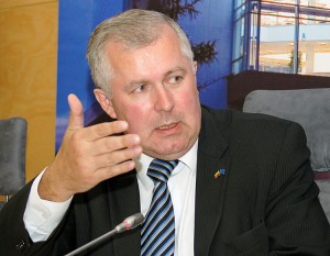 Poseł na Sejm RL Arvydas Anušauskas     Fot. M. P.