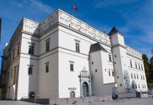 Renesansowy Zamek Dolny, wileńską rezydencję Barbary i Zygmunta II Augusta (obecnie Pałac Władców), odbudowano w 2009 r. Fot.  Marian Paluszkiewicz