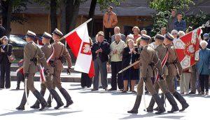 Święto Wojska Polskiego, ustanowione w 1923 roku, było zlikwidowane w okresie Polski komunistycznej i przywrócone go dopiero w 1992 r. Fot. Marian Paluszkiewicz
