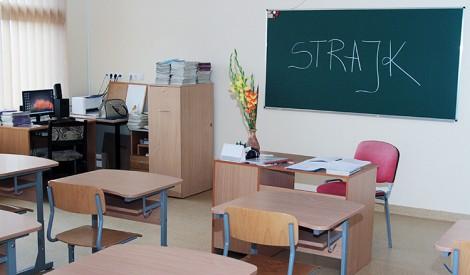 Strajk uczniów polskich szkół jest ostatecznością wobec braku reakcji władz oświatowych na postulaty polskiej mniejszości Fot. Marian Paluszkiewicz